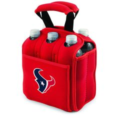 Houston Texans AFC Licensed Beverage Six Pack Cooler Tote - Heavy Duty  #PicnicTime