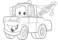 disney cars mater coloring pages printable and coloring book to print for free. Find more coloring pages online for kids and adults of disney cars mater coloring pages to print. Spring Coloring Pages, Cars Coloring Pages, Disney Coloring Pages, Coloring Pages To Print, Printable Coloring Pages, Adult Coloring Pages, Coloring Pages For Kids, Coloring Sheets, Coloring Books