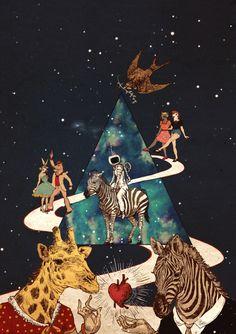 2012以舊換心Zebra Disco慈善跳蚤市場海報設计 by 南瓜子(蘇楠)