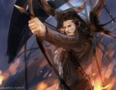 The Hobbit - The Desolation of Smaug (Bard the Bowman)