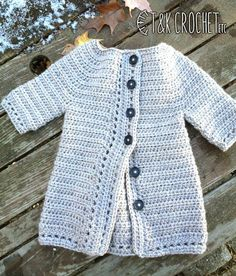 Trendy crochet sweater patterns for girls girls crocheted cardigan pattern from speed knits for tiny tots, originally published by t. TMYCUPW Best crochet sweater patterns for girls girls crochet cardigan toddler girl sweater by tandkcrochet ZMJH. Crochet Toddler Sweater, Toddler Cardigan, Crochet Coat, Crochet Cardigan Pattern, Baby Girl Crochet, Crochet Baby Clothes, Crochet Jacket, Cute Crochet, Sweater Patterns