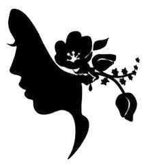Victorian House Silhouette | Victorian Lady