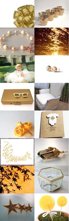Go For Gold by Rebecca on Etsy--Pinned with TreasuryPin.com