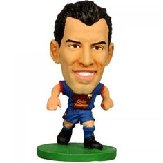 d6b46c9cf Soccerstarz Barcelona Sergio Busquets Home Kit 2015 Football Figures  Figurines     Visit the image