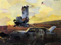 nils-ole-lund-03-The Future of Architecture-1979 The Future of Architecture and other Collages by Nils-Ole Lund