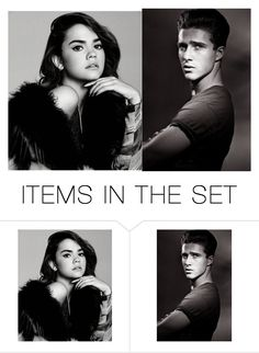 """""""Maia Mitchell & Ryan Taylor"""" by miriamparedes on Polyvore featuring art"""