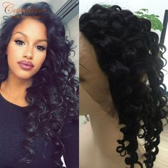 "71.04$  Watch here - http://aliwdi.worldwells.pw/go.php?t=32740558580 - ""360 Lace Frontal Closure 8A Peruvian Deep Curly Virgin Hair Lace Frontals 2""""x4"""" Elastic Band lace Frontal Closure Deep Wave Hair"""