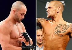 """Dustin Poirier on Eddie Alvarez (via foxsports.com):  """"He just made a mistake. He signed the papers and now it's too late. I respect him and I appreciate what he's done in the sport and the miles he's had to travel to do it. That being said, I'm a warrior and I'm going to go out there and damage this guy. He wears damage bad and I'm going to damage him."""" #FightWeek #UFC211 #mma #ufc"""