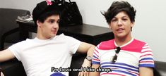 The many faces of Louis Tomlinson: Various Reaction Gifs