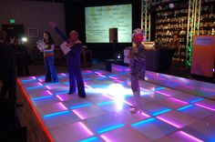 Throw a Disco Themed Corporate Event with an LED Dance Floor. Led Dance, Dance Floors, Pista, Corporate Events, Career, Flooring, Crosses, Carrera, Hardwood Floor