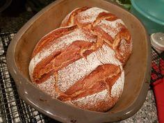 Speedy - das schnellste Brot (ohne Gehzeit) No bread in the house, now gone? No, then the Speedy is Healthy Dessert Recipes, Easy Desserts, Crockpot Recipes, Necterine Recipes, Chard Recipes, Quick Easy Meals, Love Food, Food And Drink, Tasty