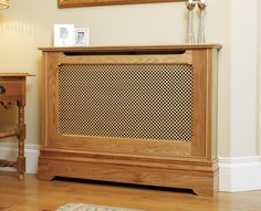 The Bespoke Furniture Company presents the Canterbury Radiator Cabinet, all of our Radiator Covers are bespokely made by our professional cabinet makers Radiator Heater Covers, Radiator Cover, Bungalow Interiors, English Cottage Style, Bespoke Furniture, Cabinet Makers, Furniture Companies, Radiators, Decoration