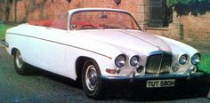 Jaguar 420G Drop Head, 1968, by Classic Cars of Coventry. Another conversion, this time 10 cars were made.