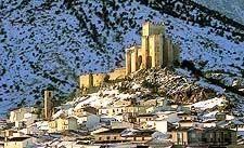 Castillo de los Velez Almeria Spain .
