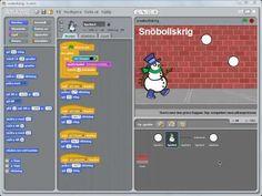 Scratchprogrammering på svenska