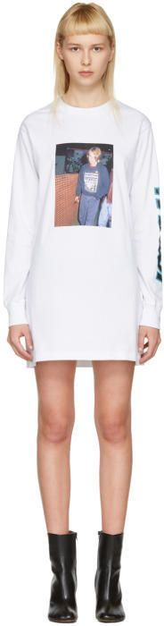 Ashley Williams White River Phoenix T-Shirt Dress