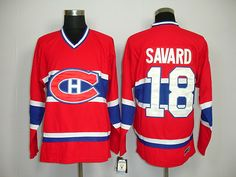 Montreal Canadiens 18 Serge SAVARD Home Jersey