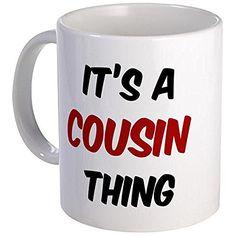 CafePress - Cousin Thing - Coffee Mug, Novelty Coffee Cup…