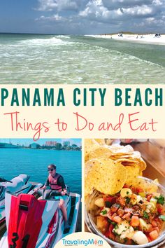 Here'S our list of the best panama city beach things to do and eat. from jet ski fun to spying alligators from airboats to splashing in waves in a state Beach Vacation Tips, Florida Vacation, Florida Travel, Beach Trip, Travel Usa, Vacation Ideas, Beach Vacations, Vacation Spots, Summer Beach