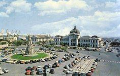 Maputo railway station, Mozambique, 1960s
