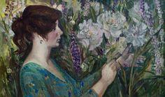 Still Life Wall ArtFlowers Oil Painting On от InnaShirokova