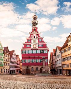 It looks like something out of a fairy tale but one you can bring to life when you book a tour of Esslingen am Neckar on TripAdvisor! Tourist Spots, Germany Travel, Adventure Travel, Big Ben, Trip Advisor, Fairy Tales, Travel Destinations, Places To Go, Europe