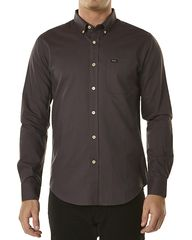 RVCA THAT'LL DO LS SHIRT - RAISIN