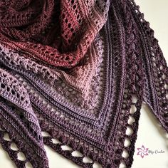Crochet Bucket List for the New Year! - Nana's Crafty Home Secret Paths Shawl by Mijo Crochet, free crochet shawl pattern Crochet Bolero, Crochet Shawls And Wraps, Knitted Shawls, Crochet Scarves, Crochet Clothes, Knit Crochet, Crochet Hats, Crochet Shawl Free, Free Knitting