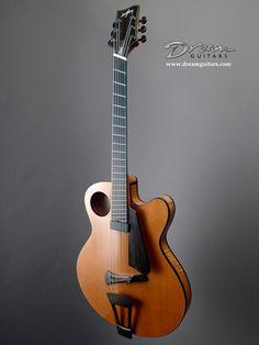 2010 Ribbecke Halfling -  Electric Guitar - Ribbecke Guitars Halfling Acoustic Guitar