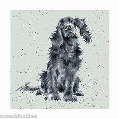 Wrendale Designs A Dog's Life Greeting Card Black Cocker Spaniel