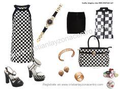 Blanco y negro. Elegancia al máximo!!