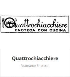 Enoteca con Cucina - Seguici su Facebook https://www.facebook.com/pages/EnotecaRistorante-Quattrochiacchiere/193640194107036