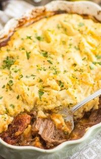Orange, tomato and star anise team up with juicy Braised Beef to create the most delicious flavor combo in this Paleo Shepherd's Pie with an Italian kick. Gluten Free Recipes, Beef Recipes, Braised Beef, Italian Style, Star Anise, A Food, Food Processor Recipes, Stuffed Peppers, Cooking