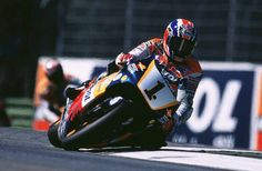 Mick Doohan in action at Imola in 1998.