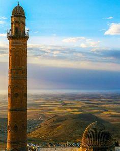 Ulu Camii ve Mardin Ovası