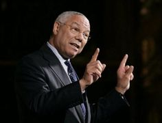 Four Star General Colin Powell. Be on your best behavior around this guy or else!