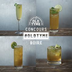 Like Old Tyme / Cocktail / BOIRE