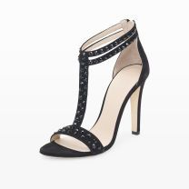 Delphine Studded Sandal - Our Delphine sandal features a retro-inspired T-strap, updated with tonal studs for a thoroughly modern feel.