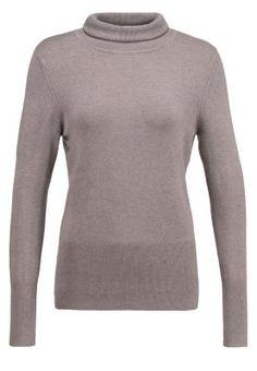 Sweter - greige melange
