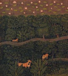 The Sampradaya Sun - Independent Vaisnava News - Feature Stories - January 2012 - Krishna Pichwai Paintings, Mughal Paintings, Landscape Paintings, Abstract Paintings, Mughal Miniature Paintings, Indian Traditional Paintings, India Painting, India Art, Wildlife Art