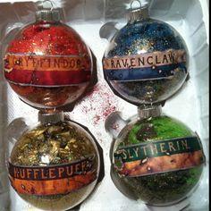 Harry Potter House Ornaments By Kya <3