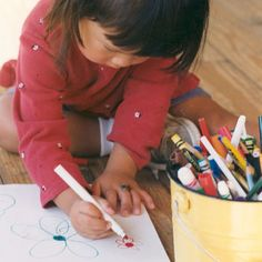 Lots of great ideas for activities that develop fine motor and handwriting skills, some with suggestions for including rhymes and common songs.