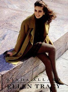 Ellen Tracy 1991 90s Fashion, Vintage Fashion, 90s Models, Ellen Tracy, Vintage Looks, Mona Lisa, Clothes, 1980s, Stage