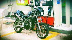 Kawasaki KLE250 Anhelo Custom 1