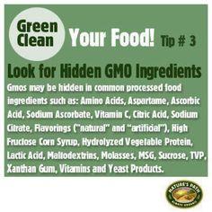 """Look for hidden Gmos - """"Natural"""" doesn't mean non-GMO - BUY ORGANIC!! GMO USA=NO LABELS!!"""