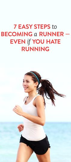 Are you wanting to get into running, but not sure where to start? Read these 7 easy steps to becoming a runner!