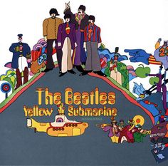 heinz edelmann 1934 - 2009  art direction and character designs for the 1968 animated film Yellow Submarine.