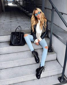 Ropa Para Tus Novelas in 2019 Cute Fall Outfits, Winter Fashion Outfits, Fall Winter Outfits, Look Fashion, Stylish Outfits, Summer Outfits, Leder Outfits, Winter Mode, Clothes For Women