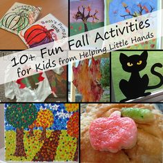 Pieces by Polly: 10+ Fun Fall Activities for Kids