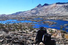 Lake Aloha - Granite Rocx - outdoors - tahoe - lake tahoe - backpack - cooler